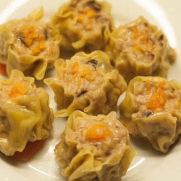 Raviolis aux porc et crevettes «Siu-Mai»