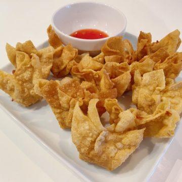 Raviolis chinois frits (4 pcs)