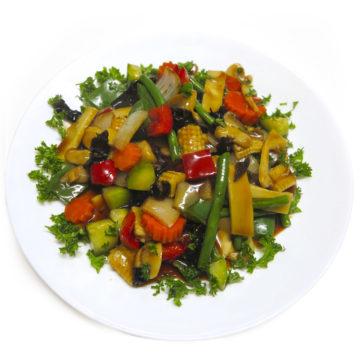 Légumes sautés variés