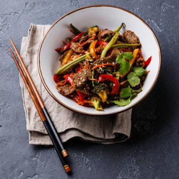 Boeuf à la sauce «Se-Tchuan»