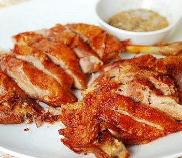 Canard croustillant du chef (avec crêpe)